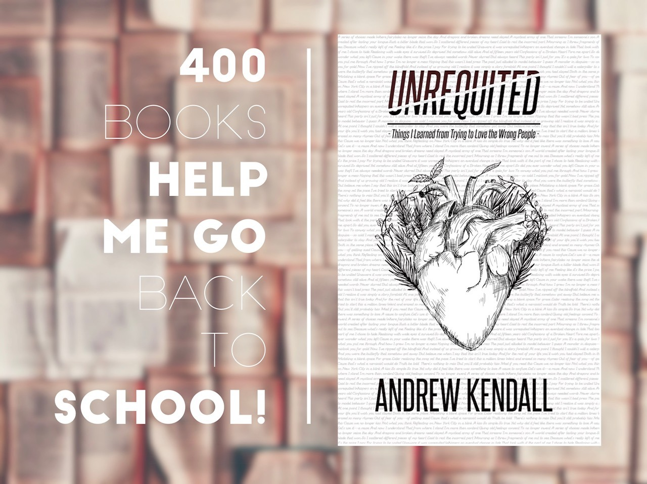 Unrequited Back To School Promotion